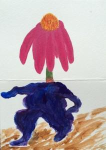 "08-04-15 ""walking coneflower"""