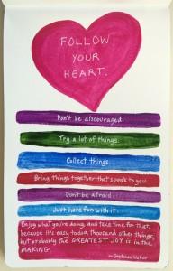 "10-14-15 ""follow your heart"""